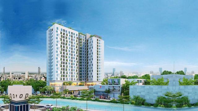 Phối cảnh tổng thể dự án căn hộ Happy One Premier Quận 12