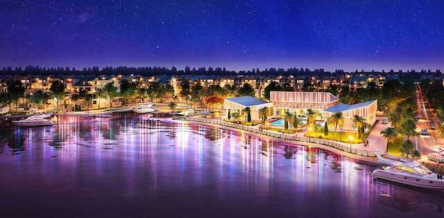 Hồ điều hòa trung tâm Biệt thự Dự án Biên Hòa New City